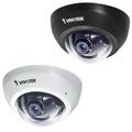 Внутренняя купольная сетевая видеокамера FD8166-F2 - Черная